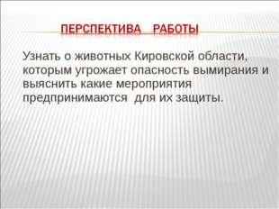 Узнать о животных Кировской области, которым угрожает опасность вымирания и