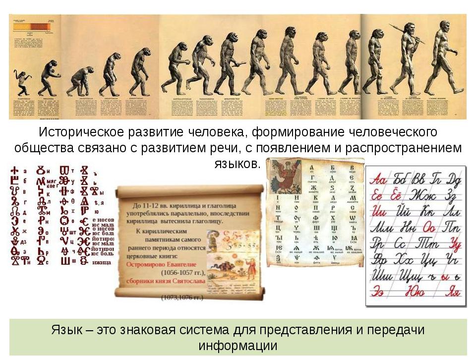 Историческое развитие человека, формирование человеческого общества связано с...