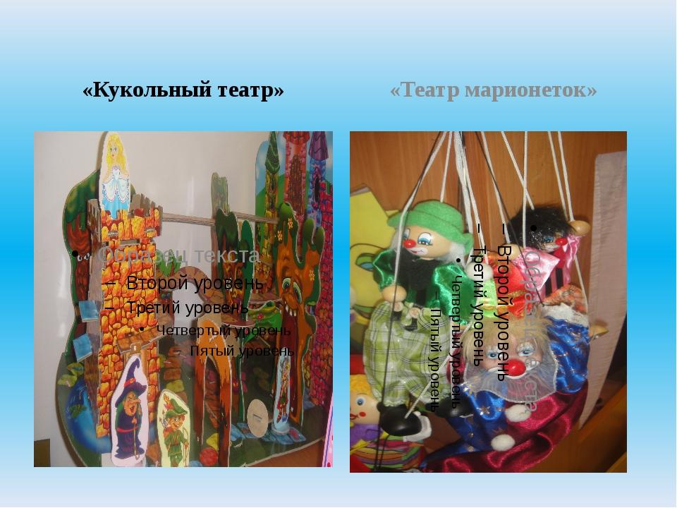 «Кукольный театр» «Театр марионеток»