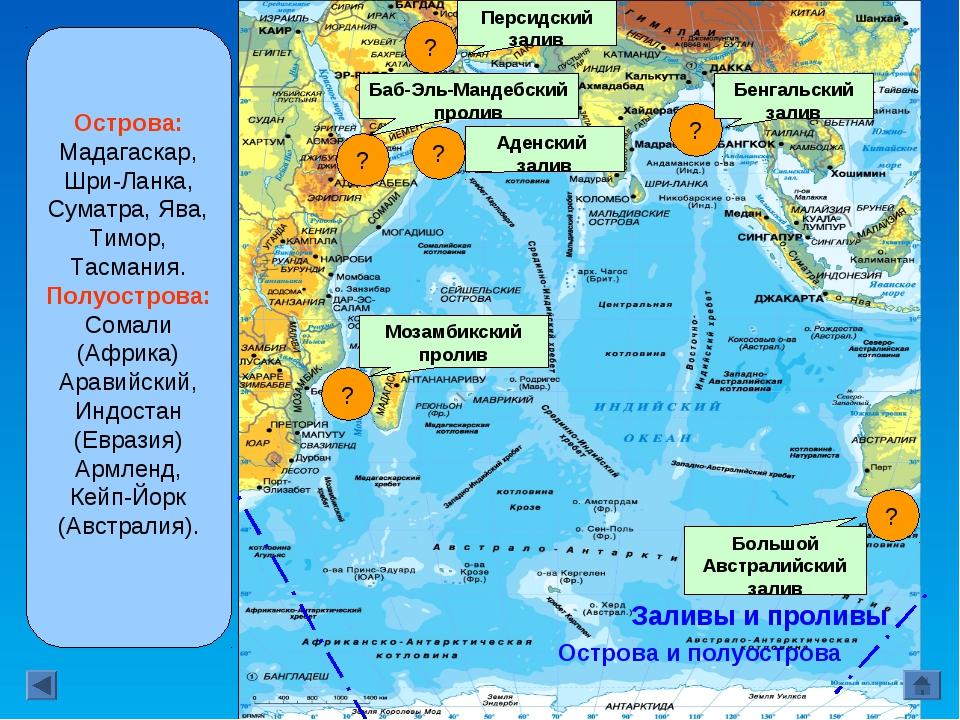 Берега океана изрезаны слабо. Островов сравни- тельно мало. Крупные острова р...