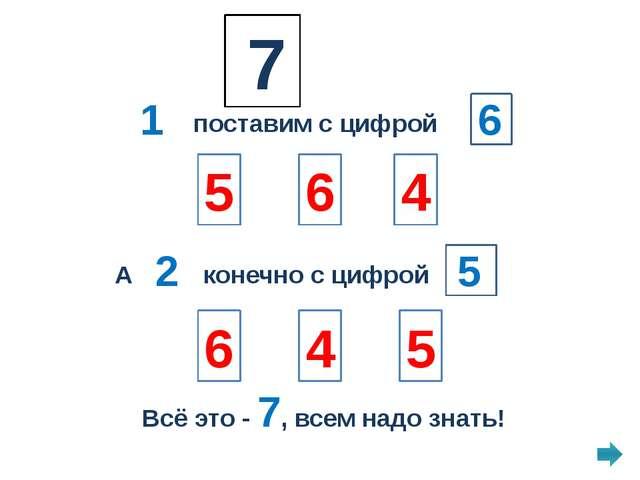 Учим 8! Не зевай! С нами вместе повторяй! 6 и 1 и 1 3 6 5 Не устали мы совсем...