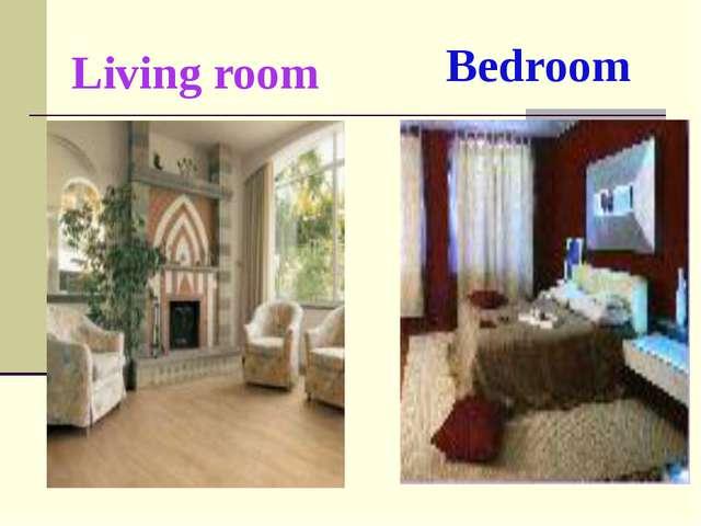 Living room Bedroom