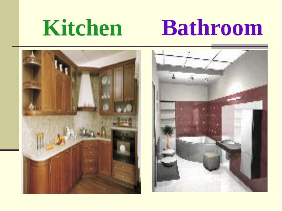 Kitchen Bathroom