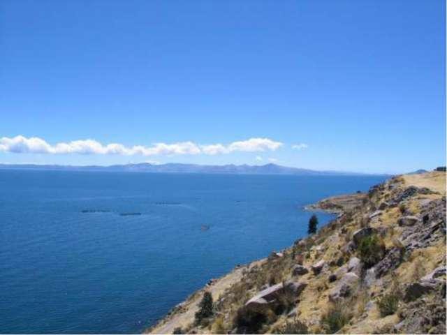 Анд тауларында дүние жүзіндегі биік тау көлдерінің ең ірісі – Титикака көлі