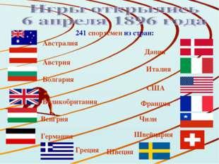Дания Австралия Австрия Болгария Великобритания Венгрия Германия Греция 241 с