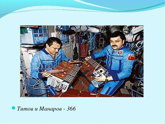 Титов и Манаров - 366