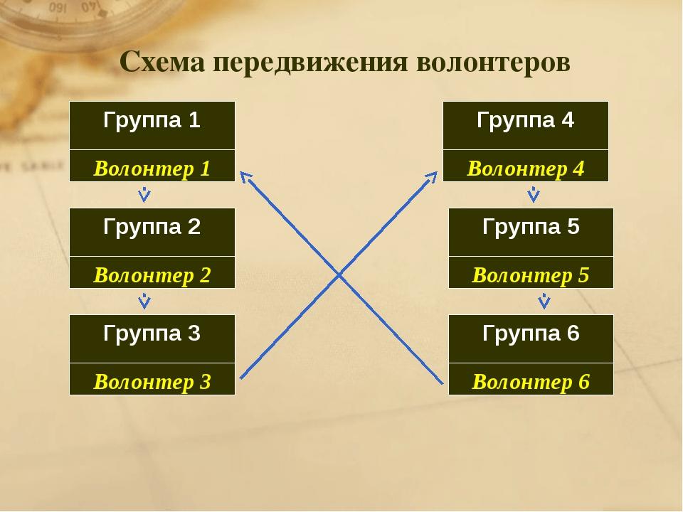Группа 1 Группа 6 Группа 5 Группа 4 Группа 3 Группа 2 Волонтер 1 Волонтер 2 В...