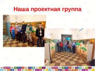 Наша проектная группа * *