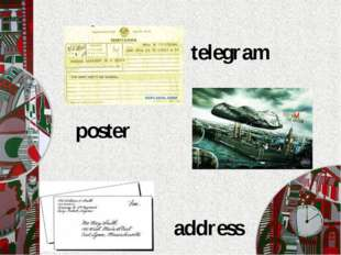 telegram address poster