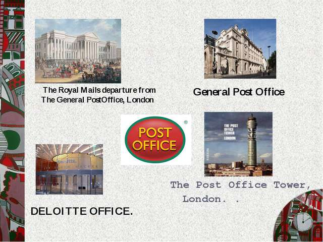 The Post Office Tower, London. . General Post Office DELOITTE OFFICE. The Roy...