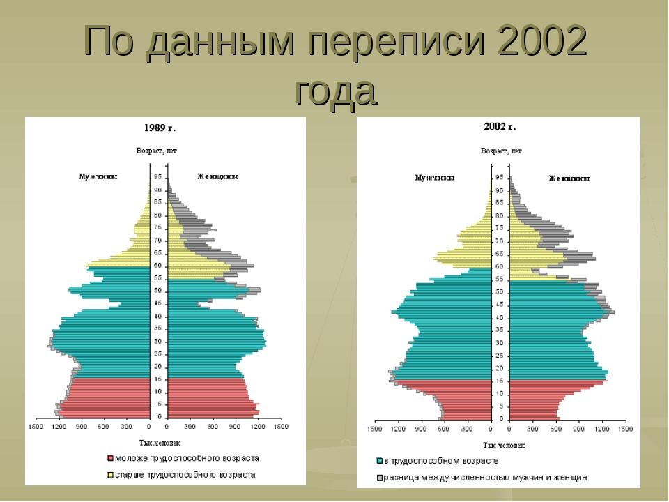 По данным переписи 2002 года