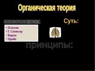 Платон Г.Спенсер Вормс Прейс - в результате естественного отбора (борьба с с