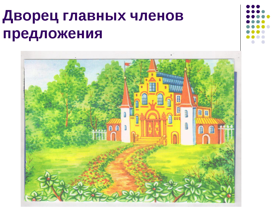 Дворец главных членов предложения