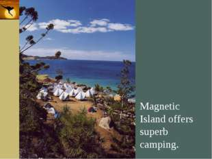 Company Logo Magnetic Island offers superb camping. Company Logo www.themegal