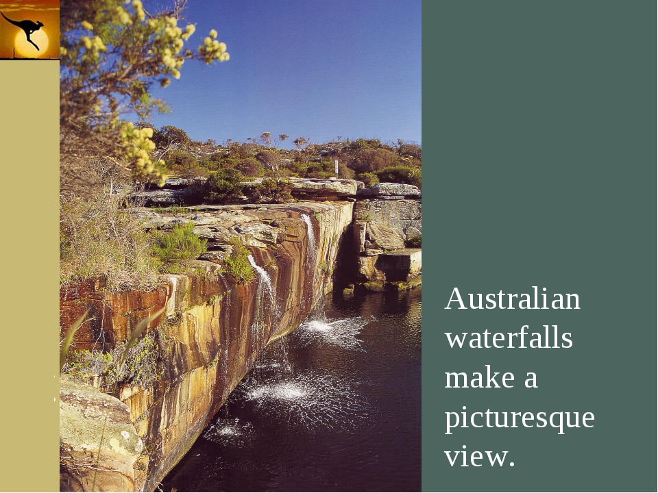 Company Logo Australian waterfalls make a picturesque view. Company Logo www....