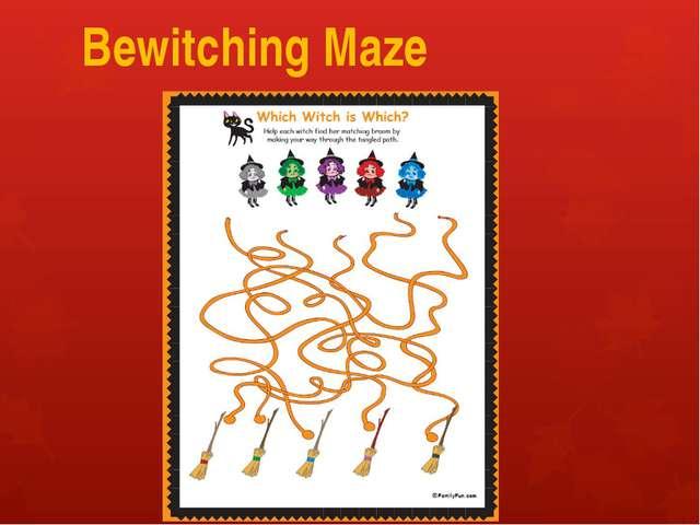 Bewitching Maze