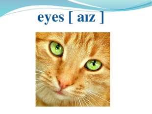 eyes [ аız ]