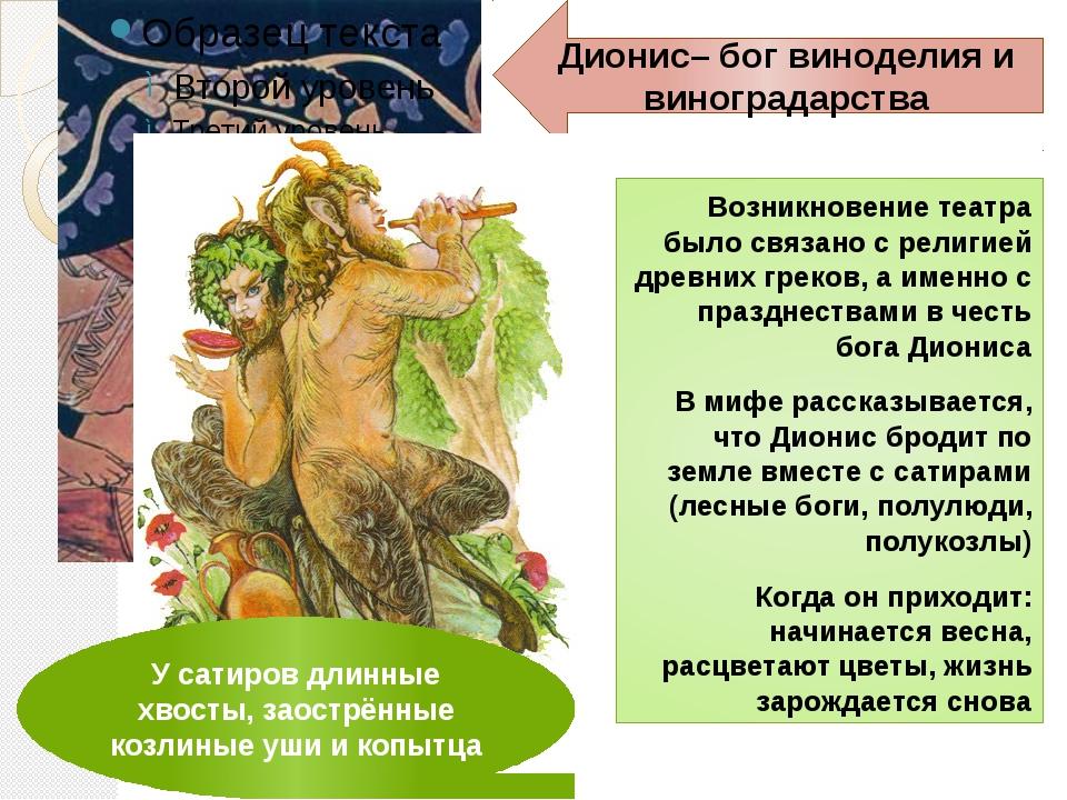 Возникновение театра было связано с религией древних греков, а именно с праз...