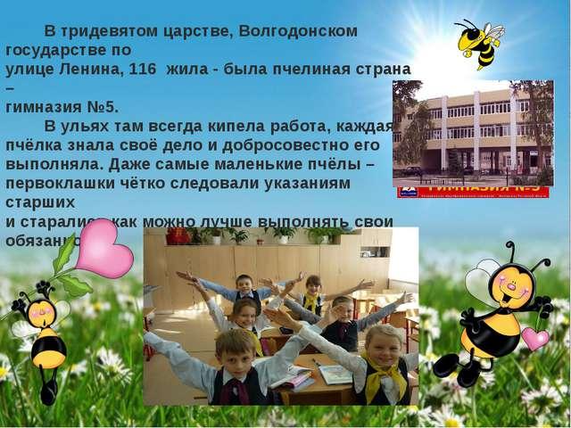 В тридевятом царстве, Волгодонском государстве по улице Ленина, 116 жила - б...