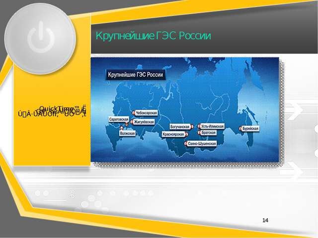 Крупнейшие ГЭС России 14