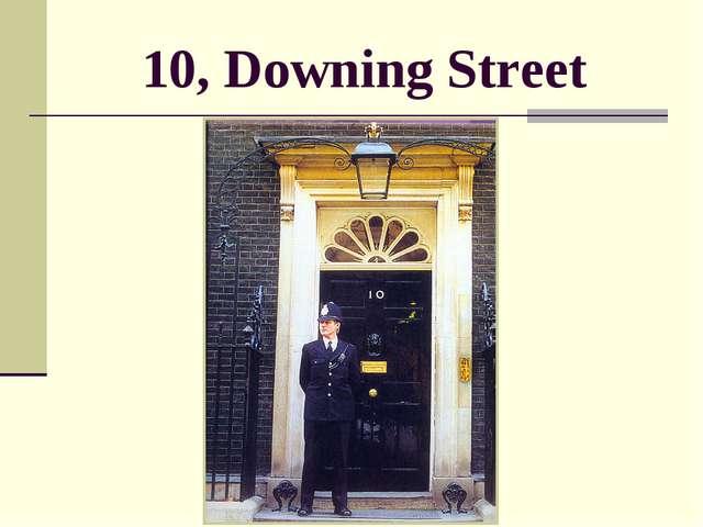 10, Downing Street
