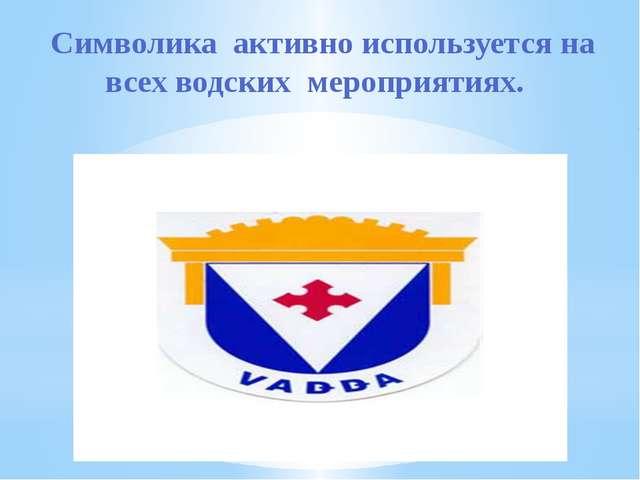 Водский герб украшен короной, представляющей верхнюю часть водского наличник...