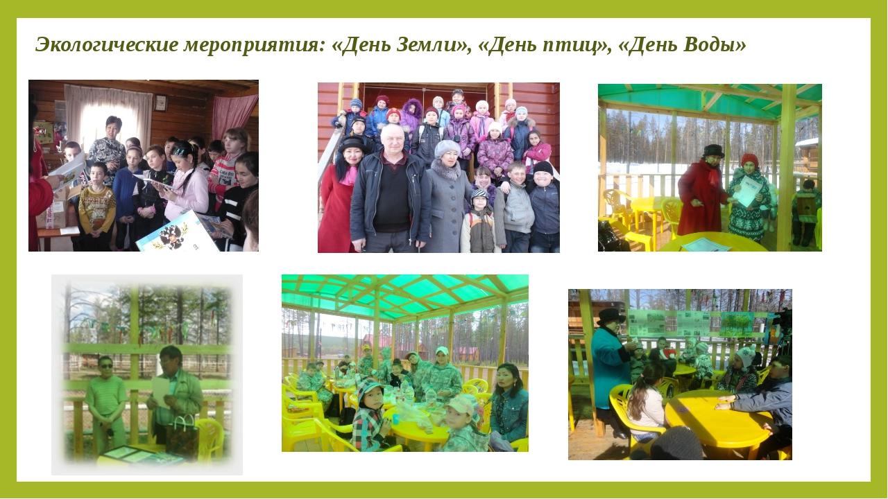 Сценарий дни экологии в школе