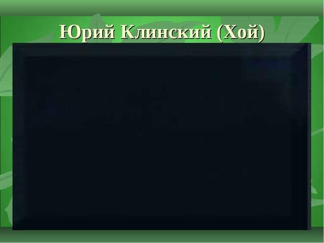 Юрий Клинский (Хой)