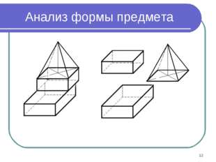 * Анализ формы предмета