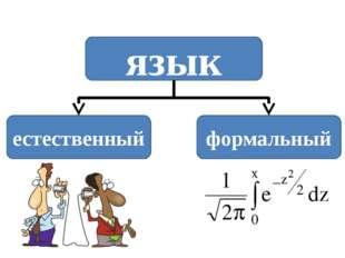 язык естественный формальный