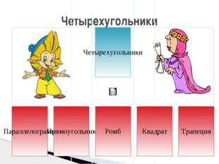 Параллелограммом называется четырехугольник, у которого противолежащие сторон