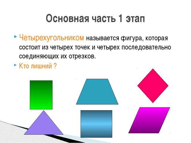 Никакие три из данных точек не должны лежать на одной прямой, а соединяющие и...