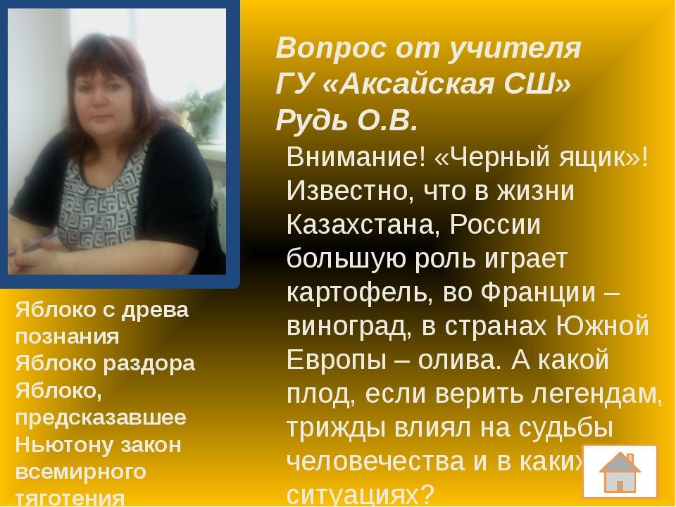 Блиц от учителя ГУ «Каракольская СШ» Бабайцевой Р.Н. Как называются соли угол...