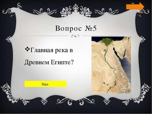 Вопрос №6 В какой части Африки находится Египет? Северо-восточной