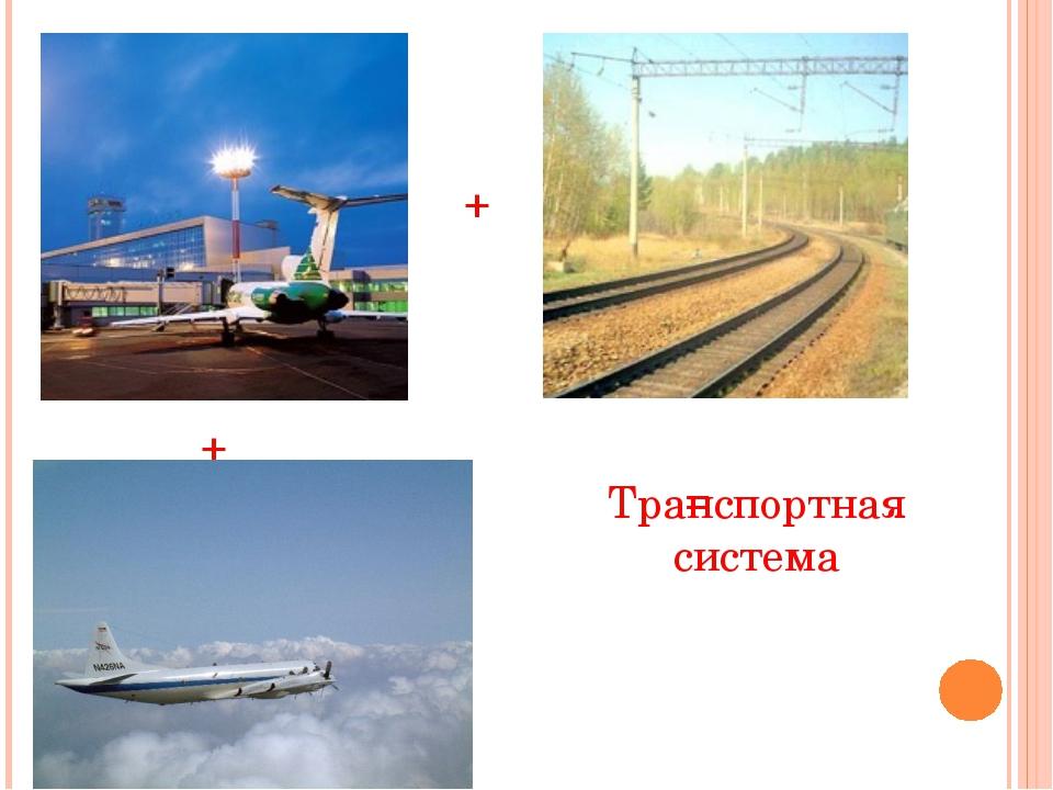 + + = Транспортная система