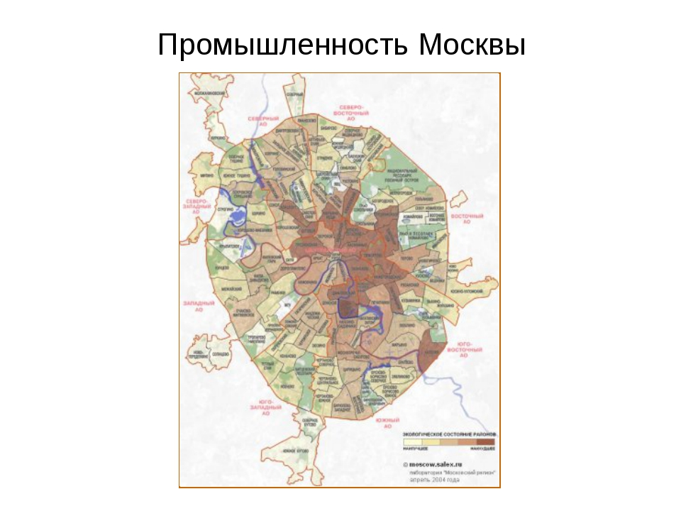Промышленность Москвы