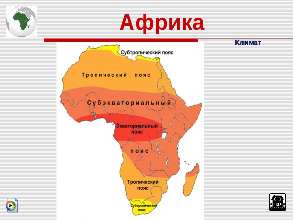Климат Африка