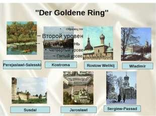 """""""Der Goldene Ring"""" Perejaslawl-Salesski Kostroma Rostow Welikij Wladimir Ser"""
