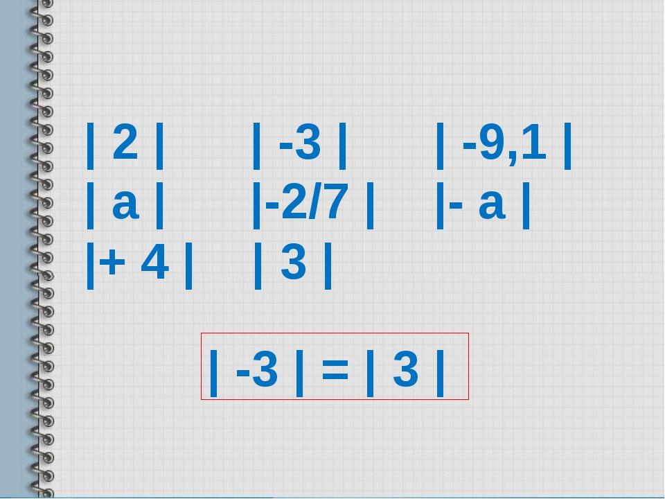 | 2 | | -3 | | -9,1 | | а | |-2/7 | |- а | |+ 4 | | 3 | | -3 | = | 3 |