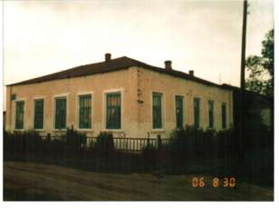 Церковно – приходская кордонская школа, построенная в 1897 году на средства ц