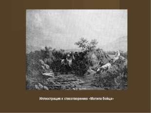 Иллюстрация к стихотворению «Могила бойца»