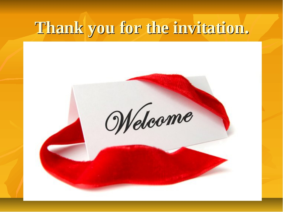 Thank you for the invitation.