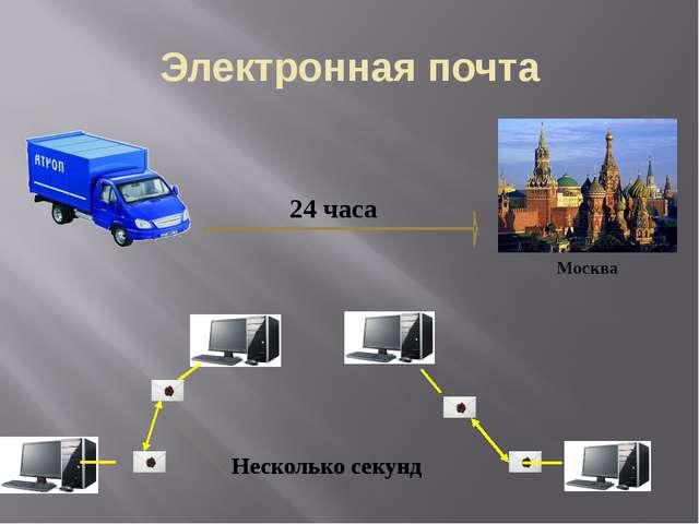 Электронная почта Москва 24 часа Несколько секунд