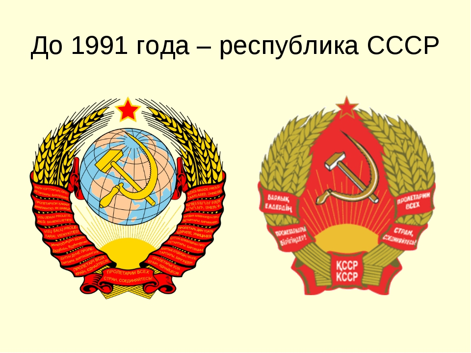 До 1991 года – республика СССР