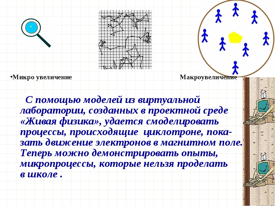Спомощью моделей извиртуальной лаборатории, созданных впроектной среде «Ж...