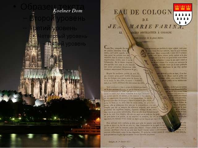 Köln Koelner Dom