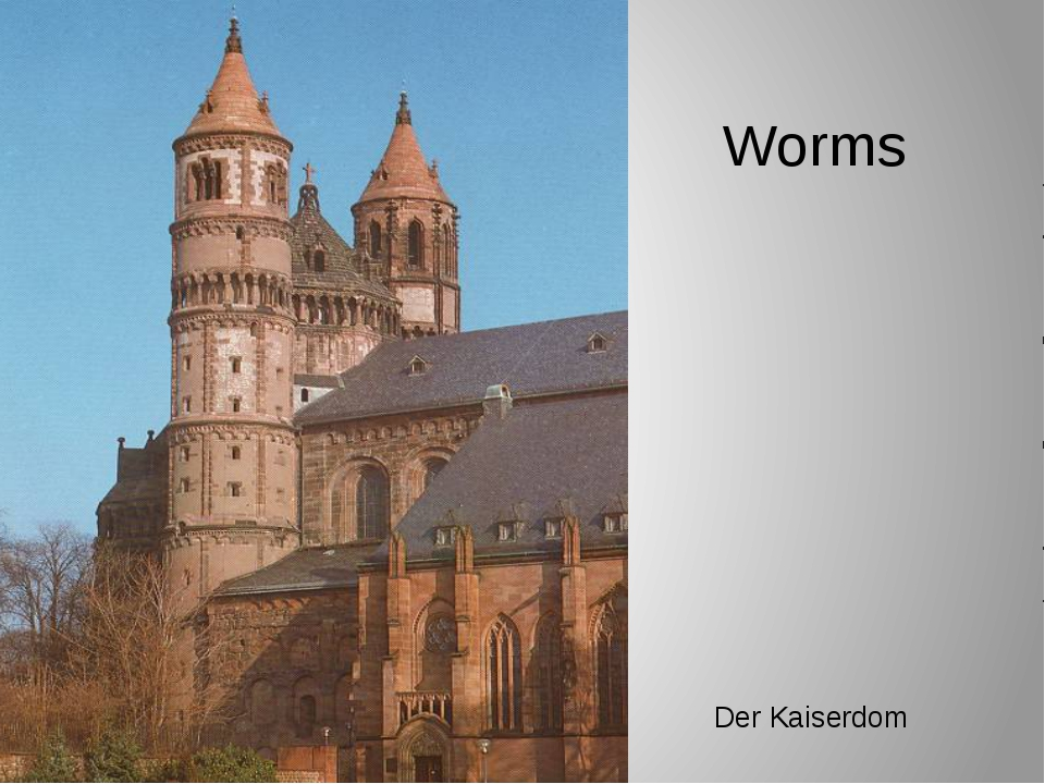 Worms Der Kaiserdom