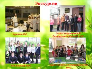 Экскурсии Курская АЭС АПК Курской АЭС Отдел экологической безопасности Курско