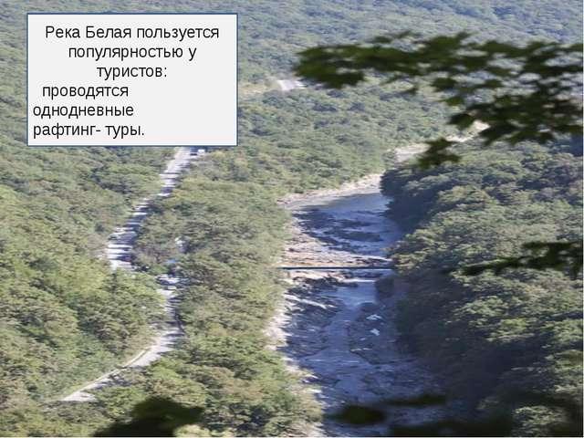 Река Белая пользуется популярностью у туристов: проводятся однодневные рафтин...