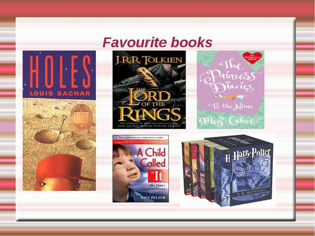 Favourite books